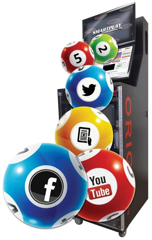 Origin® Digital Lottery Draw System | Smartplay International